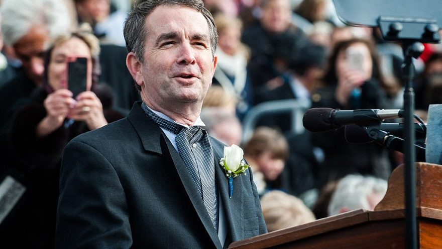 Va. Gov. Northam Thanks Gun Control Advocates for 'Historic Day'
