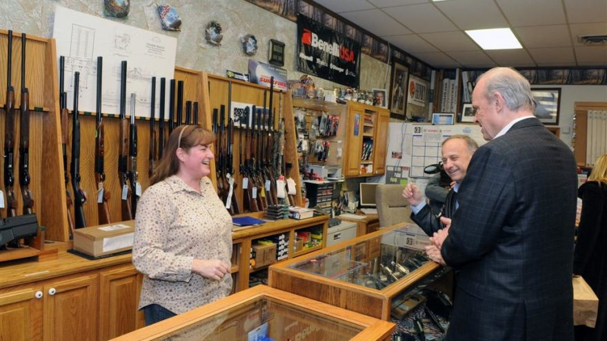 National Emergency Orders Gun Shops to Close