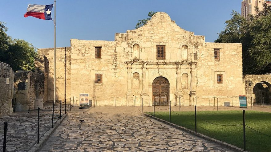Texas Warns Protesters It Will Defend The Alamo